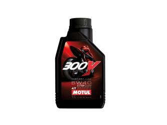 OLIO MOTUL 300V SINTETICO ROAD RACING 15W50 4T 1L