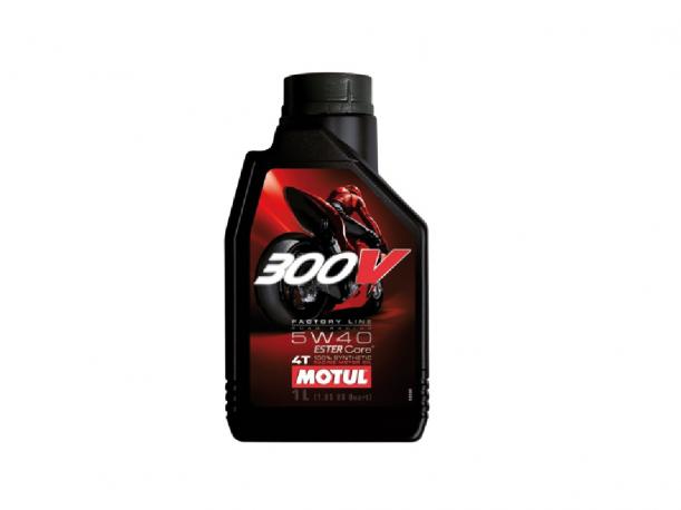 OLIO MOTUL 300V SINTETICO ROAD RACING 10W40 4T 1L