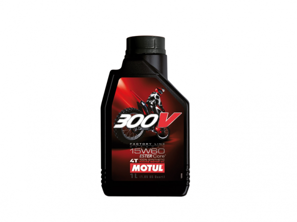 OLIO MOTUL 300V SINTETICO OFFROAD 15W60 1L