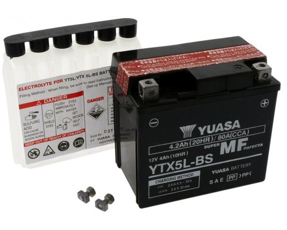 BATTERIA YTX5L-BS YUASA