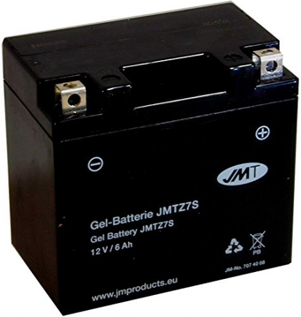 Batterie Motorrad YTZ7S WET JMT