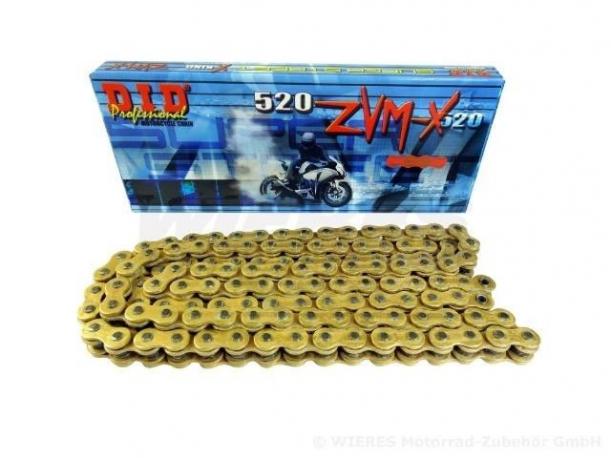 Catena D.I.D X Ring Passo 520 ZVMX Maglie 112