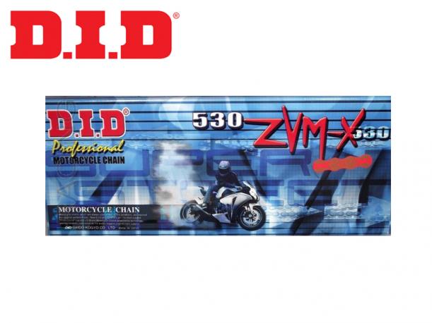 Catena D.I.D X Ring Passo 530ZVMX Maglie 100