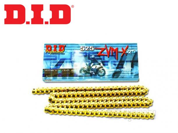 Catena D.I.D X-Ring Passo 525ZVMX Maglie 118