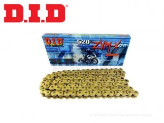 Catena D.I.D X-Ring Passo 520ZVMX Maglie 126