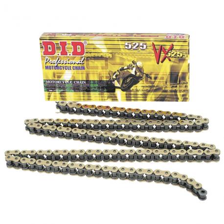 Catena D.I.D X-Ring Passo 525 V X Maglie 124