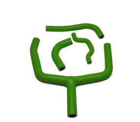 Tubi Radiatore Silicone Kawasaki - Verdi
