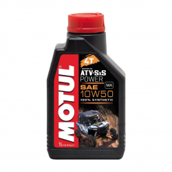 OLIO MOTUL POWER 4T ATV SXS 10W50 1L