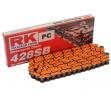 Catena RK SB Passo 428 Maglie 130 - Arancio