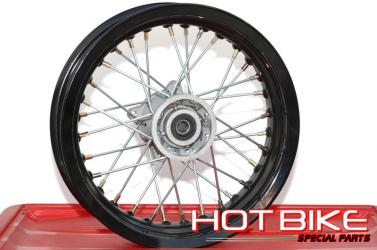 Cerchio Anteriore 14 in Alluminio Pit Bike