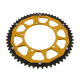 Corona Dual 55 Denti Passo 420 Aprilia RX 50 6-gear Racing