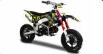 Pit Bike SHIVER ZS 155 PRO 14cv 12 MOTARD