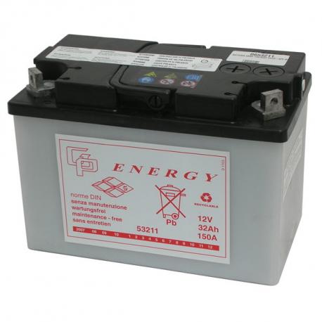 Batteria 12 V Piaggio Ape TM 703 - Ape 50 - TM 602