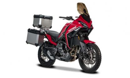 Tris Valigie in alluminio Moto Morini X-CAPE 650