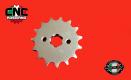 Pignoni Pit Bike Passo 420 in Acciaio Molibdeno