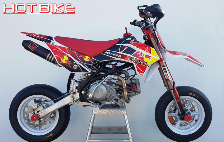 pit bike 190 crf motard 2018. Black Bedroom Furniture Sets. Home Design Ideas