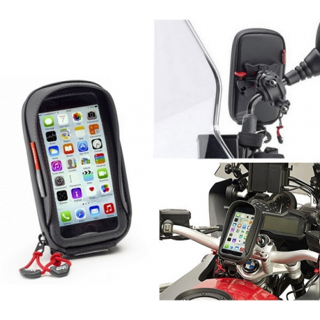 Custodia givi porta smartphone universale da moto e bici - Porta bici smart ...