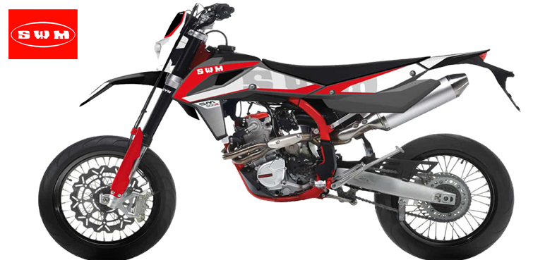 SWM SM 500 R Supermotard 2018