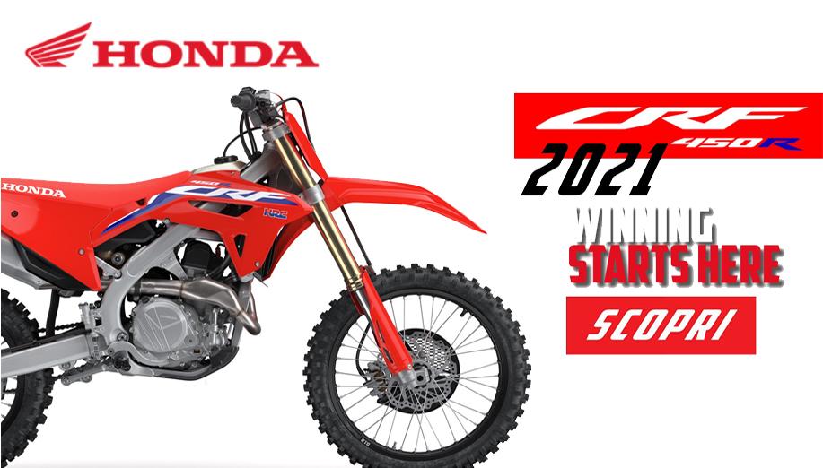HONDA CRF 450 R 2021